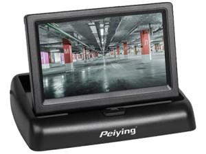"""Monitor samochodowy 4,3"""" Peiying PY0107 w sklepie Wasserman.eu"""
