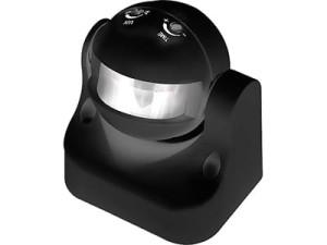 PIR motion detector 1200W 180st black ES34R 7162 at Wasserman.eu