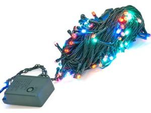 Lampki choinkowe 100LED 10m RGB E10B2 kolorowe w sklepie Wasserman.eu