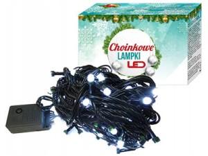 Lampki choinkowe E17 100LED 10m białe 8 trybów w sklepie Wasserman.eu