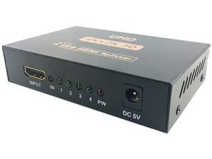 Splitter HDMI aktywny. Rozdzielacz 1x4 For HDMI w sklepie Wasserman.eu