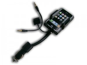 Allkit handle. USB charger FM transmitter iPhone, 3G, iPod at Wasserman.eu