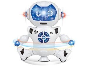 The B12H interactive robot dances, talks, teaches words at Wasserman.eu