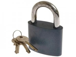 M&D Kze 25 latched cast iron padlock at Wasserman.eu