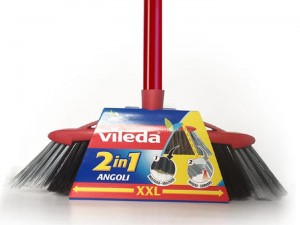 Vileda ANGOLI 128762 profiled brush 2in1 at Wasserman.eu