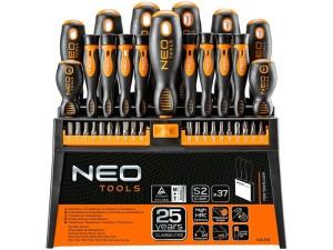 Wkrętaki i końcówki wkrętakowe 37szt NEO Tools 04-210 w sklepie Wasserman.eu