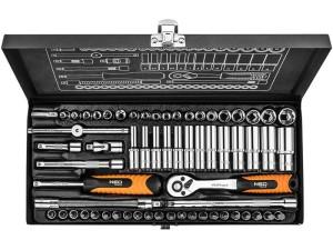 Klucze nasadowe 63 el. Neo Tools 08-679 w sklepie Wasserman.eu