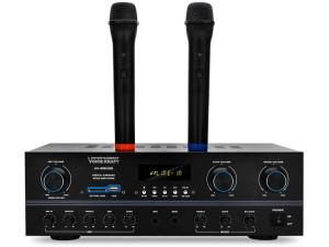 VoiceKraft AV-818USB SD Bluetooth Karaoke Amplifier at Wasserman.eu