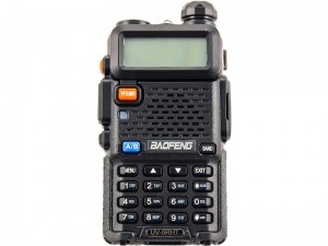 Baofeng UV-5R HT dual band VHF / UHF two-way radio at Wasserman.eu