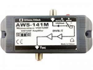 AWS-141M internal antenna amplifier at Wasserman.eu