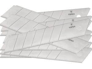 Blades broken for knives. 10 pieces. Topex 17B348 at Wasserman.eu