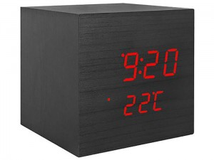 Zegarek budzik kostka LED z termometrem LXLTC07 w sklepie Wasserman.eu