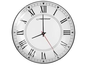 Zegar ścienny Esperanza EHC018R Roma w sklepie Wasserman.eu