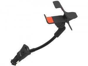 US-27 car holder clip with a 12V / 24V charger at Wasserman.eu