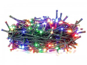 100LED Christmas tree lights 10m Colorful ZY0817T timer at Wasserman.eu