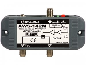 AWS-142M internal antenna amplifier at Wasserman.eu