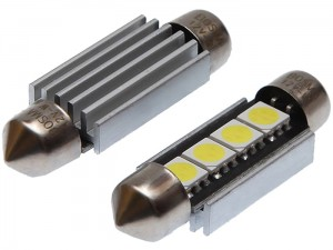 12V Canbus SV8,5 4XSMD car led bulbs at Wasserman.eu