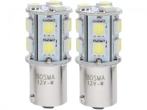 Car LED bulbs 12V BA15s 13XSMD at Wasserman.eu