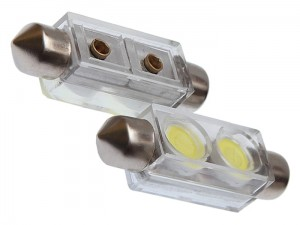 Car LED bulbs 12V SV8,5 2XSMD at Wasserman.eu
