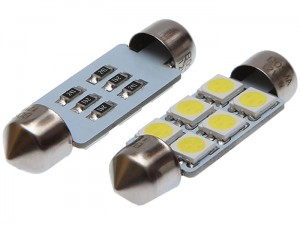 Car LED bulbs 12V SV8,5 6XSMD at Wasserman.eu