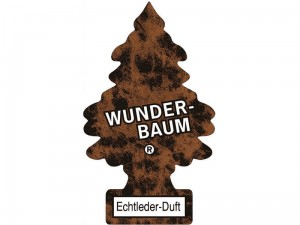Freshener. Wunder-Baum scented Christmas tree. Leather at Wasserman.eu