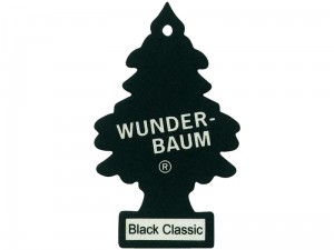 Freshener. Wunder-Baum Black Classic Christmas tree at Wasserman.eu