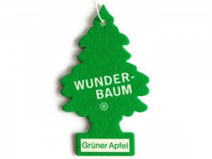 Freshener. Wunder-Baum Christmas tree Green apple at Wasserman.eu