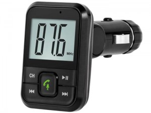 Car FM transmitter with bluetooth and USB Peiying URZ0467 at Wasserman.eu