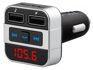 FM transmitter with bluetooth and USB + charger URZ0468 at Wasserman.eu