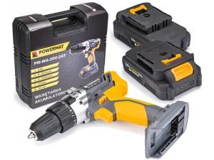 Wkrętarka akumulatorowa z udarem Powermat PM0682 w sklepie Wasserman.eu