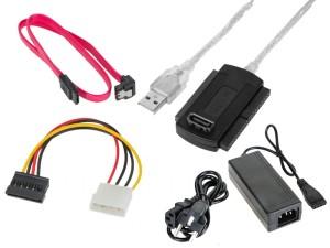 """USB to IDE 2.5 """"and 3.5"""" + S-ATA at Wasserman.eu"""