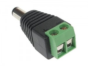 DC plug 2.1 / 5.5 quick power supply connector at Wasserman.eu