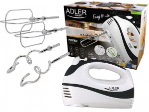 Kitchen mixer two sets of turbo function stirrers at Wasserman.eu