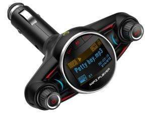 FM transmitter bluetooth USB microSD voltmeter at Wasserman.eu