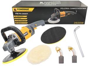 Car polisher, pucerka. Velcro shield at Wasserman.eu