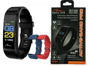 Media-Tech ACTIVE-BAND MT859 BT smartband watch at Wasserman.eu