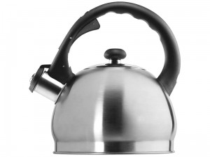 Kettle with whistle 1.8L stainless steel induction at Wasserman.eu