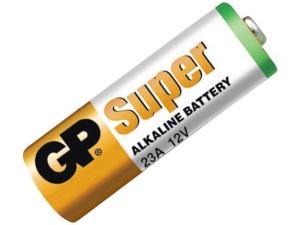 Alkaline battery A23, 23AE, V23GA 12V GP Super at Wasserman.eu