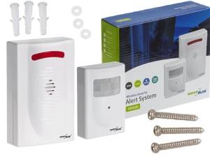 Wireless alarm range of 120 meters at Wasserman.eu