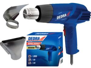 Heat gun 1000W / 2000W 550 degrees Dedra at Wasserman.eu