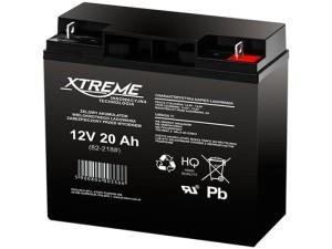 Maintenance free 12V 20Ah Xtreme gel battery at Wasserman.eu