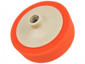 Orange polishing sponge 150x45mm M14 universal at Wasserman.eu