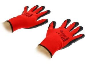 Rękawice robocze rozm. 10 red Rękawiczki ochronne G73582 w sklepie Wasserman.eu