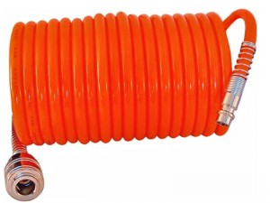 Spiral hose for compressed air 15m at Wasserman.eu