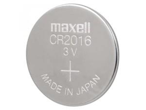 3V CR2016 Maxell Japan lithium battery at Wasserman.eu