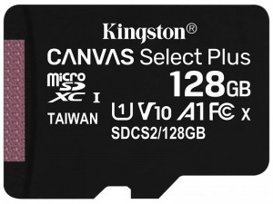 Micro SDXC 128GB class 10 UHS-I memory card 1 at Wasserman.eu