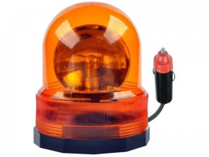 Orange flashing light. 24V rooster at Wasserman.eu