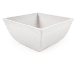 White frost-resistant composite flowerpot at Wasserman.eu