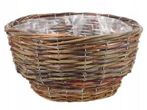 Wicker basket for planting at Wasserman.eu