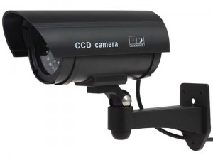 Dummy monitoring camera Q22 black IR Led at Wasserman.eu